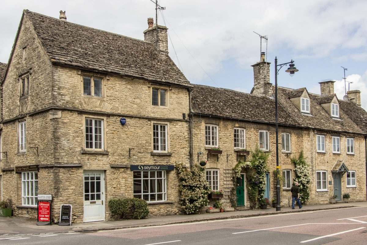 Cottages in Tetbury