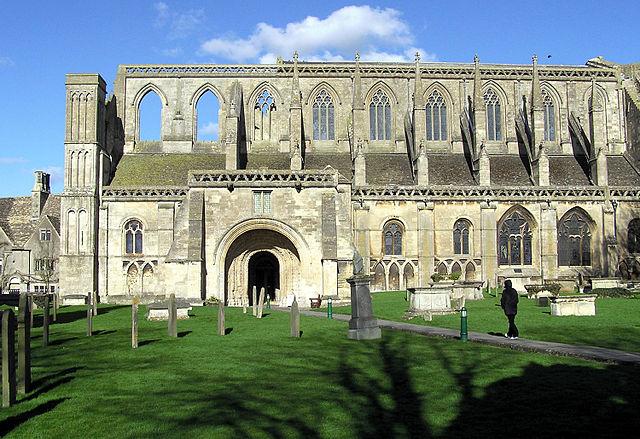 Malmesbury Abbey ruins