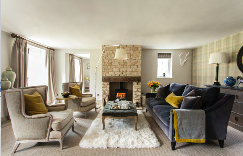 Complete re-design of Cotswold Holiday Cottage near Cirencester – by Astman Taylor