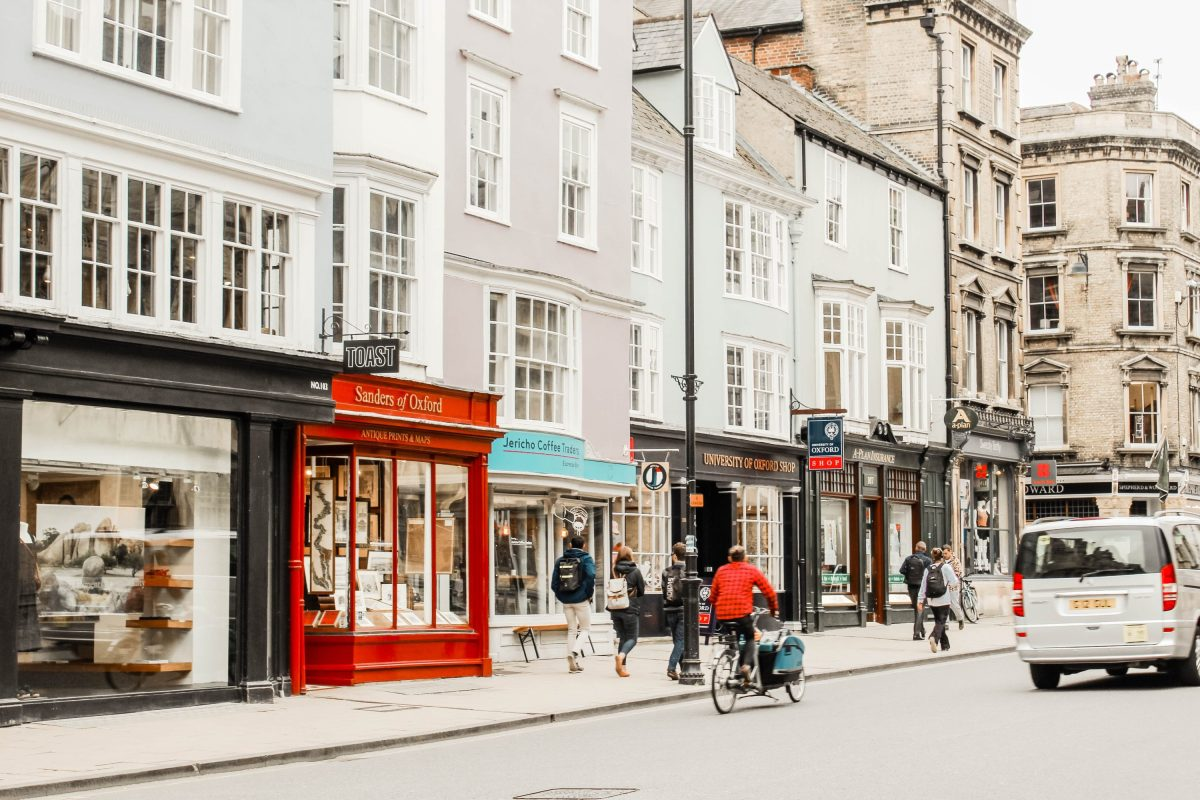 Oxford Shopping